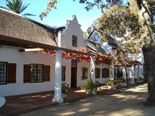 Landgut in Stellenbosch