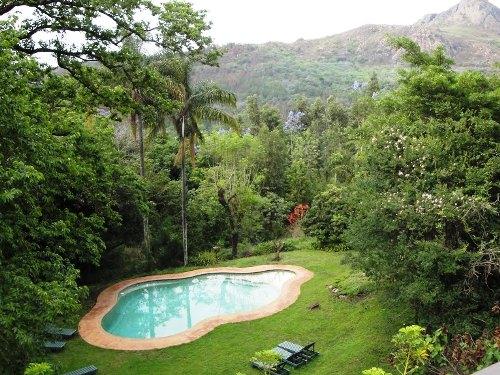 Pool der Unterkunft in Swaziland